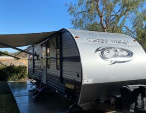 Forest River-California Grey Wolf 22RR Toy Hauler