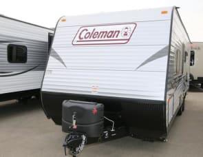 Coleman lantern bunk house