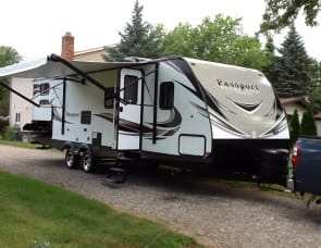 keystone passport grand touring 2920bh