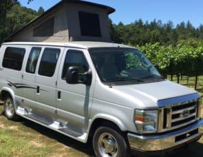 Pop-Up Camper Van (Ford Pleasure-Way Traverse)