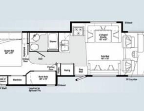 Winnebago Vista Bunkhouse 32K