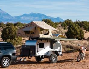 Moby 1 XTR offroad teardrop trailer