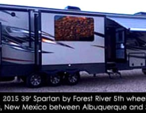 Forest River Spartan 5th wheel