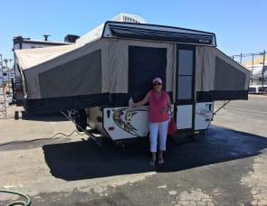 Clipper 806LS tent trailer