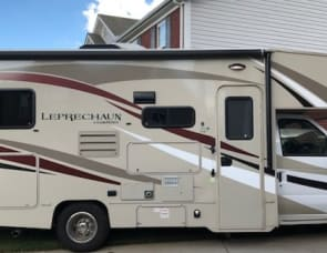 Coachman Leprechaun with Outdoor Entertainment Center and FULL Kitchen Included