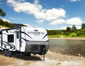 Outdoors RV Black Rock Back Country Series 18DB