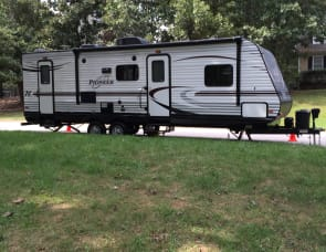 Heartland Pioneer  Bunkhouse Style Travel Trailer