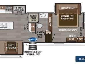 Keystone Montana Legacy 3931RL