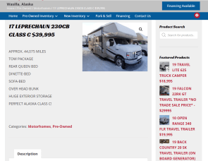Coachmen RV Leprechaun 230CB
