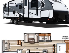 Forest River RV Vibe Extreme Lite 287QBS