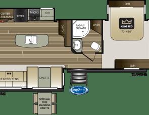 Keystone Cougar HALF-TON 32RLI