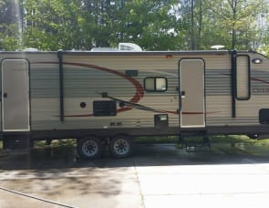 Forest River RV Cherokee Grey Wolf 27BHKS