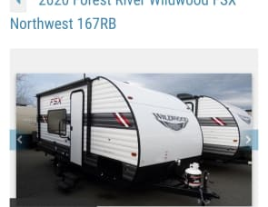 Forest River RV Wildwood FSX 167RB