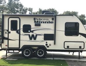 Winnebago Industries Towables Micro Minnie 1808FBS