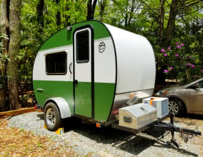 Rustic Trail Polar Bear Teardrop Trailer