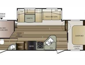 Keystone RV Cougar Half-Ton Series 28RBSWE