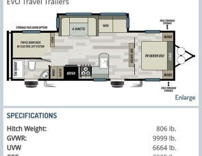Forest River RV EVO T2700