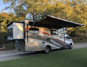 25' Winnebago Navion Mercedes in Vista. 150 miles per day WOW!