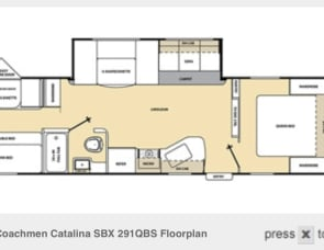 Coachman Catalina 291QBS
