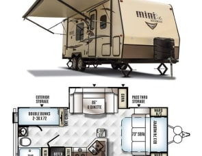 Forest River RV Rockwood Mini Lite 2504S