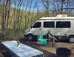 Seats 8! Sprinter RV Sportsmobile (up to 24 MPG) Free access to Minnesota State Parks! By Mercedes Benz