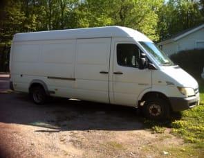 "Dodge Sprinter Van 158"" wheelbase"