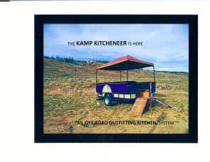 Outdoor Kitchen/Party Off Road Trailer
