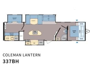 Dutchmen RV Coleman Lantern Series 337BH
