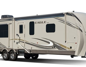 Jayco Hard side pop up with storage deck