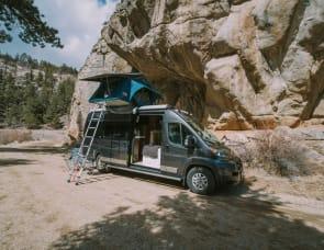 Off Grid Camper Van