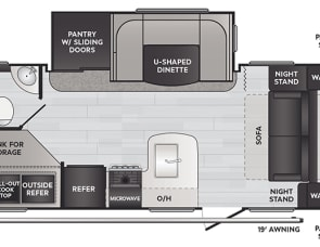 Keystone RV Passport SL 221BH