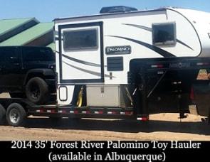 Forest River Toy Hauler