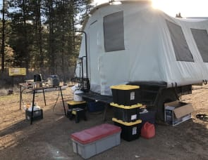 Jumping Jack Trailer 6x8 Tent Trailer
