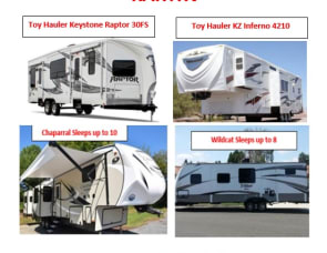 Northern Nevada Special Events Fully Stocked Trailers