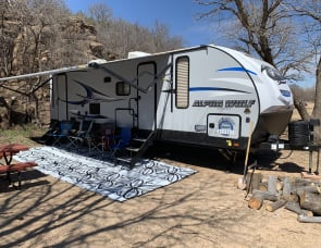 Forest River RV Cherokee Alpha Wolf 26DBH-L