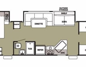 Forest River RV Cherokee Grey Wolf 29DSFB