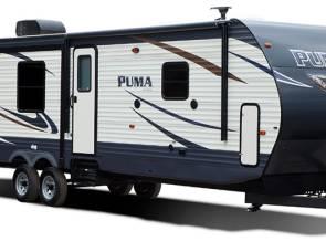 2016 puma 28' bunk beds
