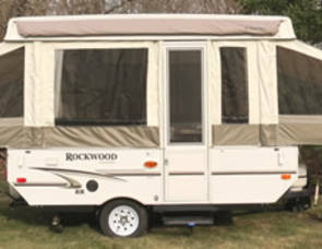 2012 Forest River Rockwood pop-up camper