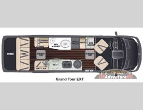 2016 Airstream/Grand Tour/Disel /19mpg