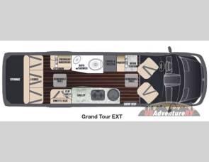 2016 Airstream/Grand Tour/Disel /19mpg