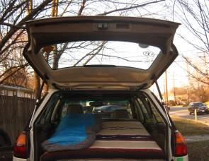 2002 Subaru Outback Hatchback Camper