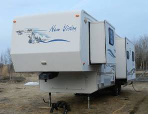 2003 Kz new vision 35 ft 3 slides