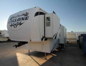 2010 Cyclone Toy Hauler