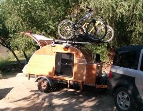 2015 TearDrop trailer by SunDrop Solar Trailers