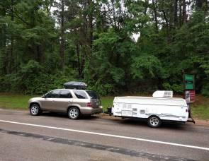 2007 Fleetwood Santa Fe pop up camper