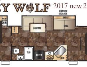2017 Grey Wolf TT 29DSFB