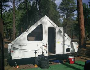 2013 Forest River Flagstaff A-Frame Trailer