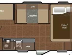2016 Keystone bunkhouse
