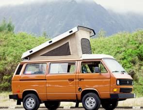 1982 Volkswagen Vanagon Surf Camper