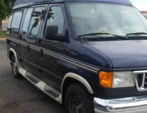 2004 Ford E150 Camper Van
